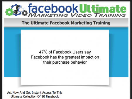 The Ultimate Facebook Marketing Training