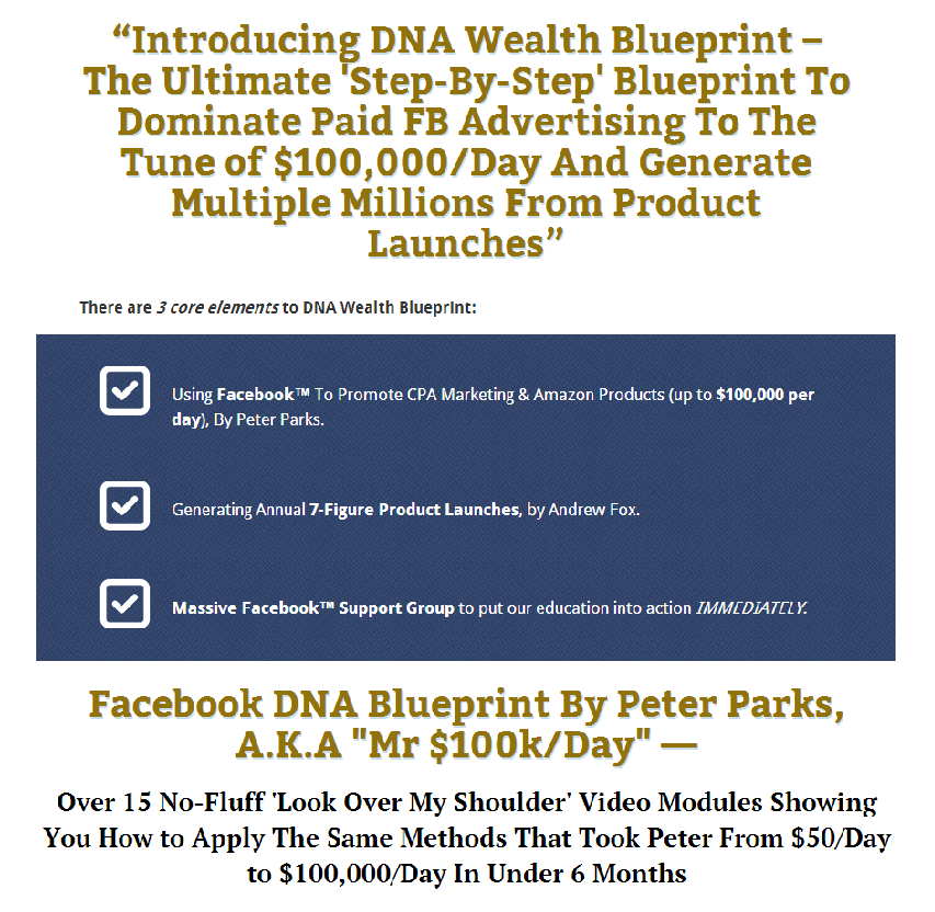 Get dna wealth blueprint updated by peter parks and andrew fox dna wealth blueprint updated by peter parks and andrew fox 2997 malvernweather Image collections
