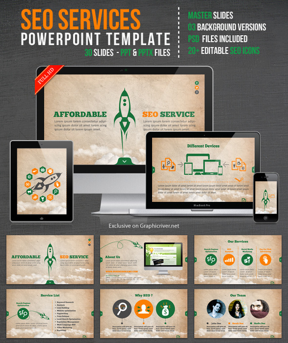 get seo services powerpoint template 15 ecashminer free download