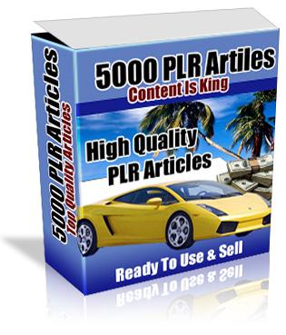 5000 PLR articles – $97.9