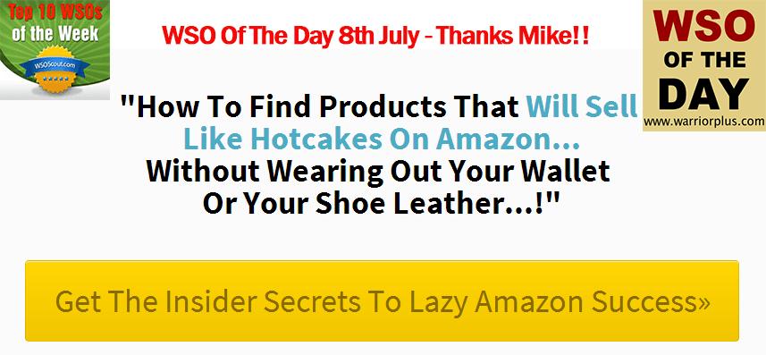 Get] Amazon Gold – the lazy way to Amazon profits – Value $17