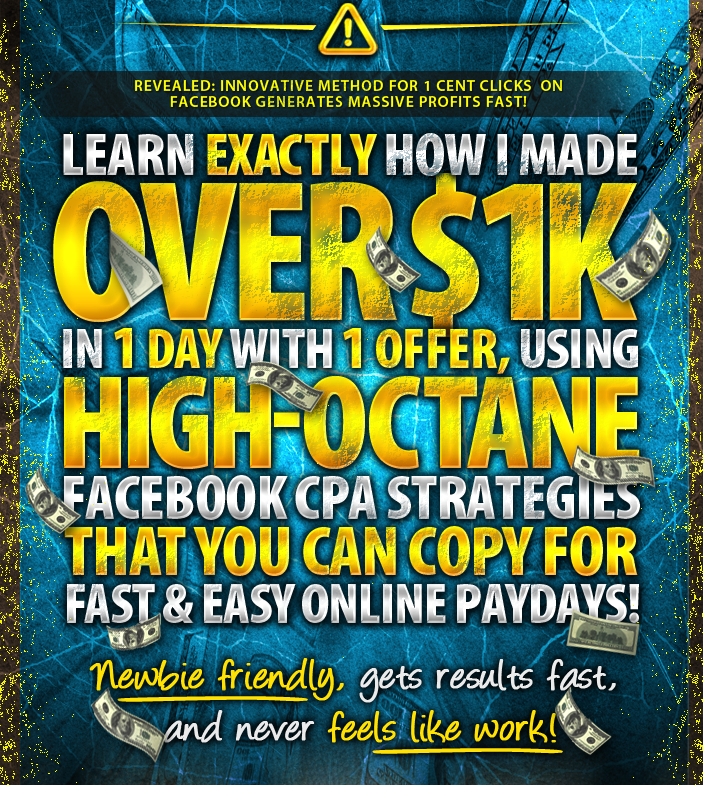 Get] FB Viral Cash – Over $1k in Profit in 1 Day, with 1 Offer with