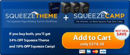 Squeeze Camp Theme & Plugin download