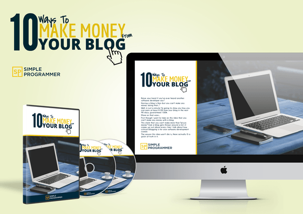 10 Ways to Make Money with Your Blog – John Sonmez download