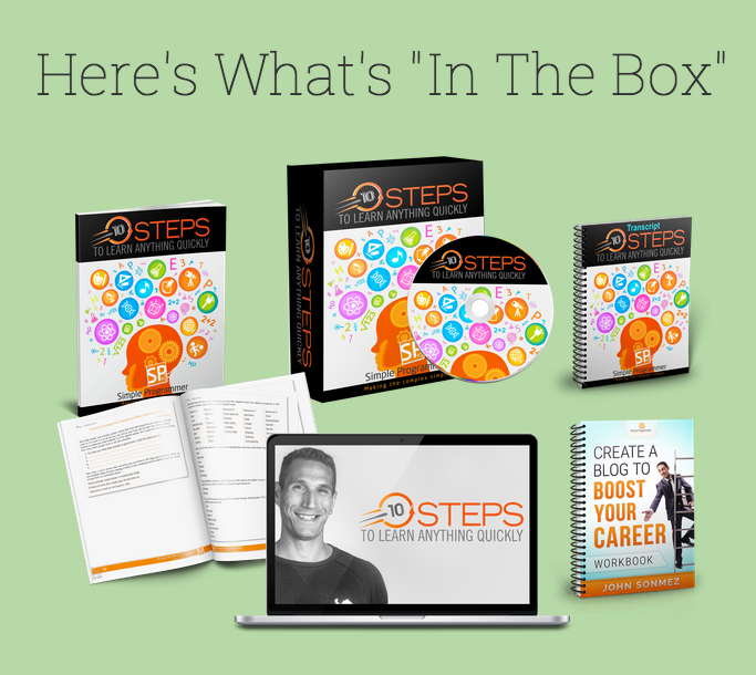 10 Steps To Learn Anything – John Sonmez download