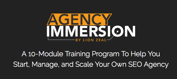 Agency Immersion – Lion Zeal download