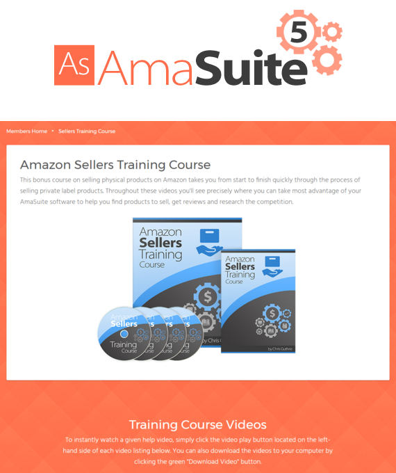AMASUITE 5 – Amazon Sellers and Affiliate Training Course download