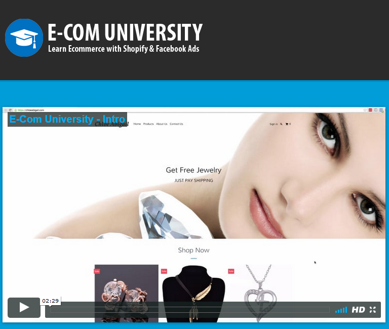 E-com University – Tim Burd download