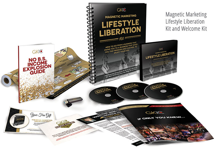 Magnetic Marketing Lifestyle Liberation Gold Membership – GKIC download