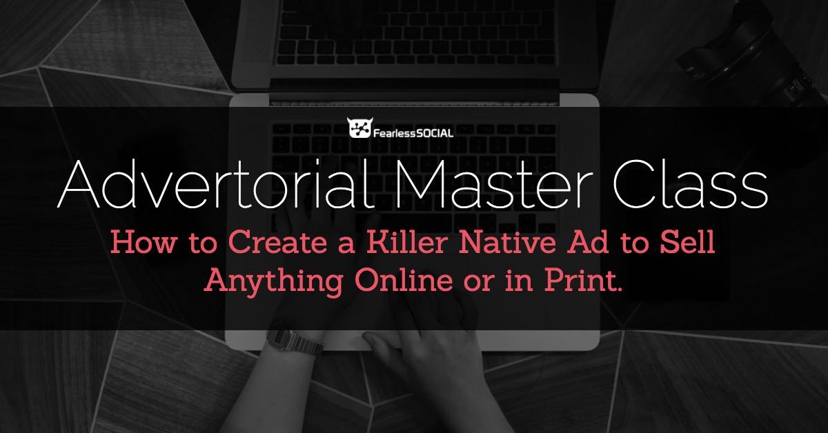 Advertorial Master Class Advanced Platinum – Ben Adkins download