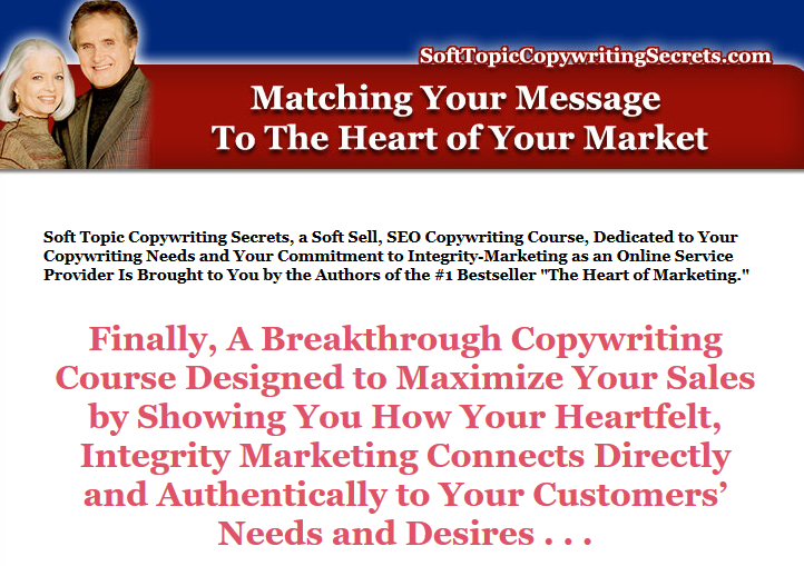Soft Topic Copywriting Secrets Home Study Course download