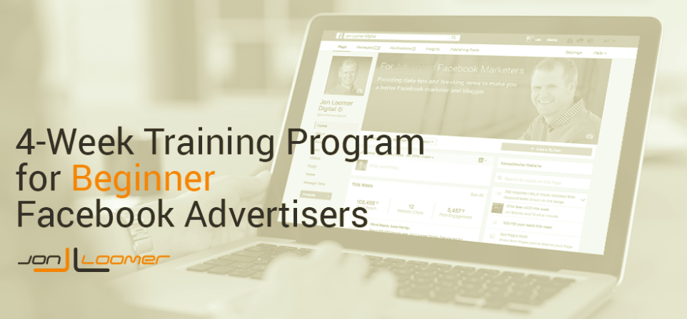 Facebook for Beginner Advertisers 4-Week Training Program – Jon Loomer download