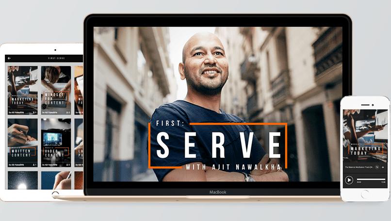 First: Serve – Ajit Nawalkha download