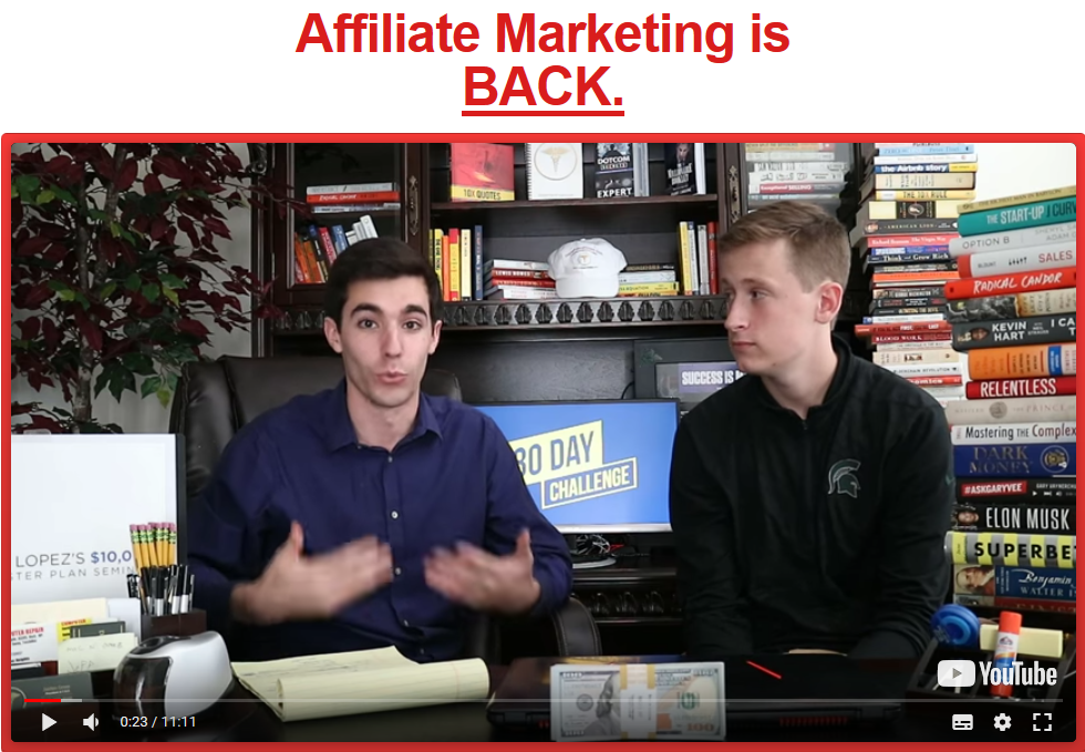 Affiliate Marketing Master Class – 30-Day Challenge Training – Jaiden Gross download