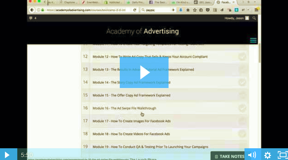 FB Ads Profit Maximizer Bootcamp 2.0 – Jason Hornung download