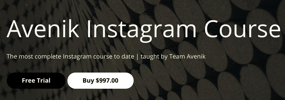 Avenik Instagram Course – Team Avenik download