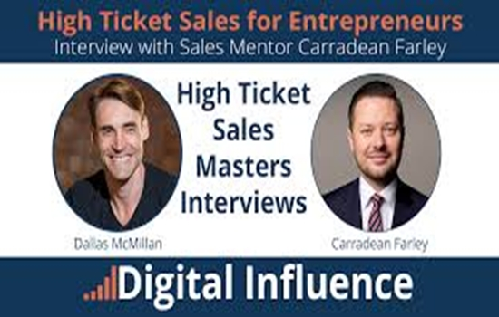 High Ticket Sales for Entrepreneurs – Carradean Farley download