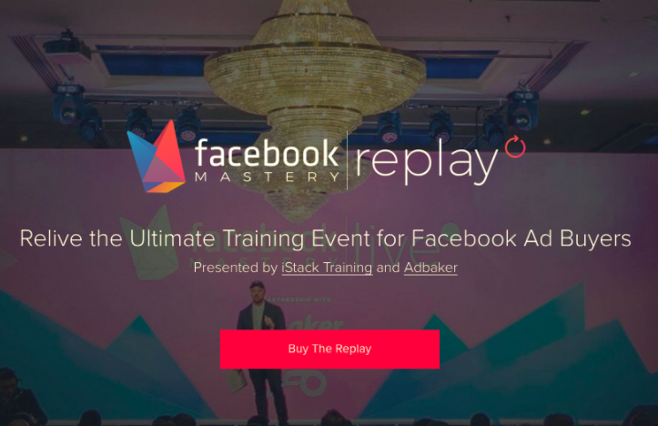 Facebook Mastery Live Asia Replay 2017 – iStack download