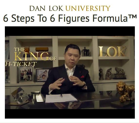 6 Steps To Six Figures Formula – Dan Lok download