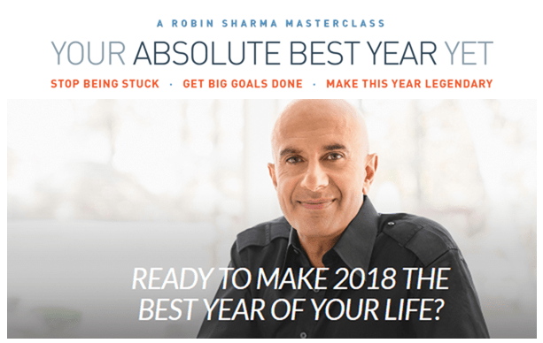 Your Absolute Best Year Yet 2018 – Robin Sharma download