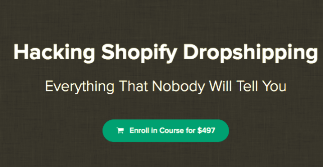 Hacking Shopify Dropshipping – Hayden Bowles download
