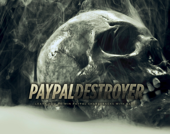 Paypal Destroyer – Win all Paypal Chargeback download