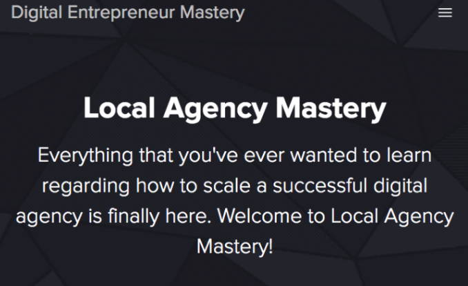 Local Agency Mastery – Donovan Williams download