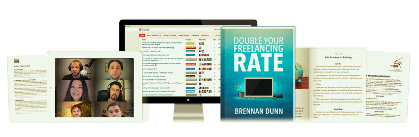 Double Your Freelancing Rate – Brennan Dunn download
