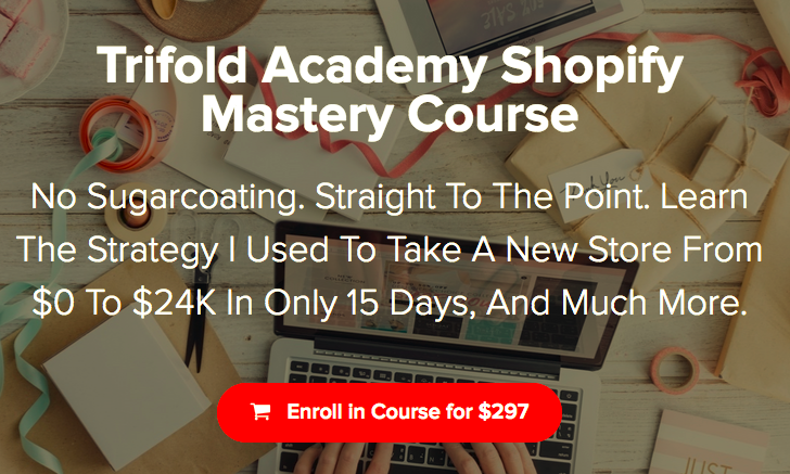 Trifold Academy Shopify Mastery Course – Art Hernandez download