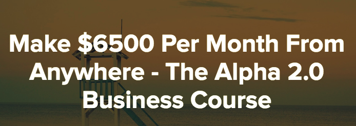 The Alpha 2.0 Business Course download
