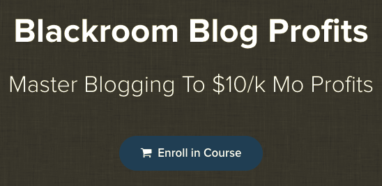Blackroom Blog Profits 2018 – Jon Dykstra download