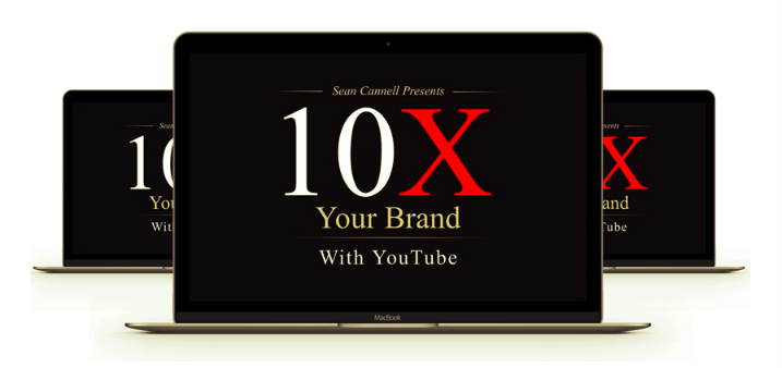 10X Your Brand With YouTube – Sean Cannell download