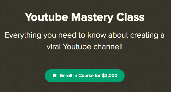 Youtube Mastery Class – Kody download