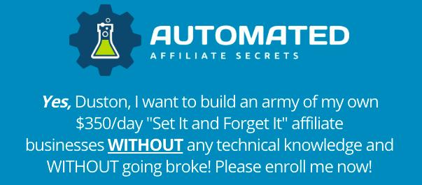 Automated Affiliate Secrets – Duston McGroarty download