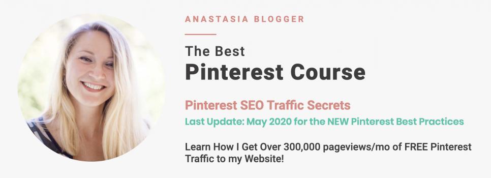 Pinterest SEO Traffic Secrets – Anastasia Blogger download