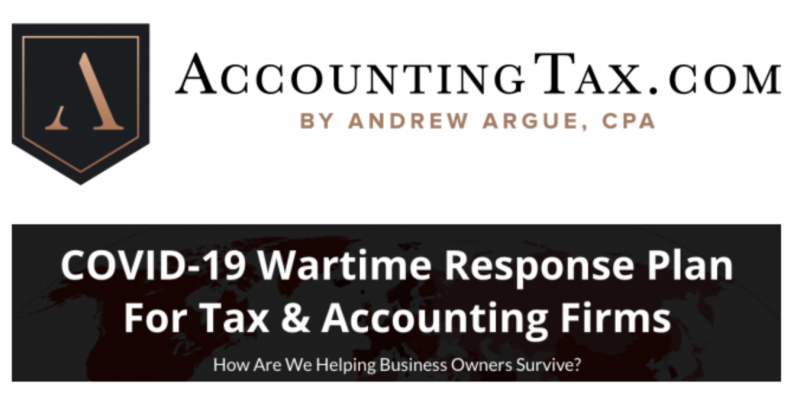 AccountingTax Programs + COVID 19 Consulting – Andrew Argue download