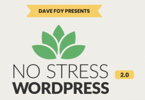 No Stress WordPress 2.0 – Dave Foy download