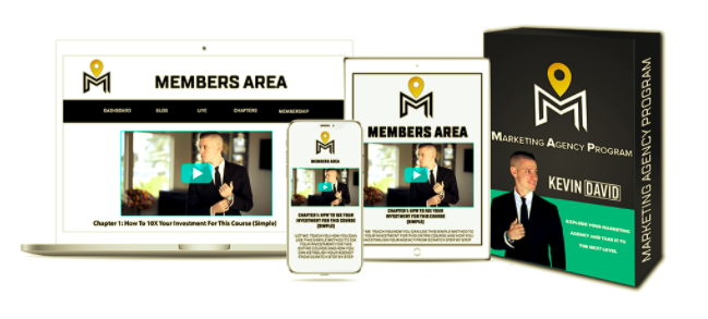 Marketing Agency Program – Kevin David download