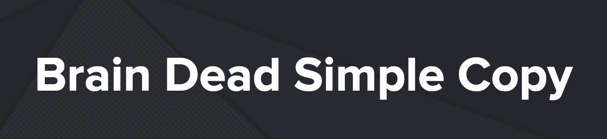 Brain Dead Simple Copy – Nate Schmidt download