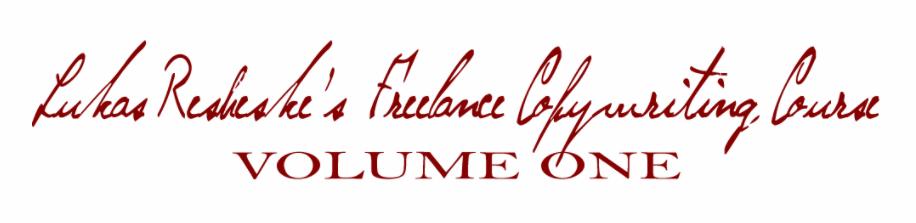 Freelance Copywriting Course – Lukas Resheske download