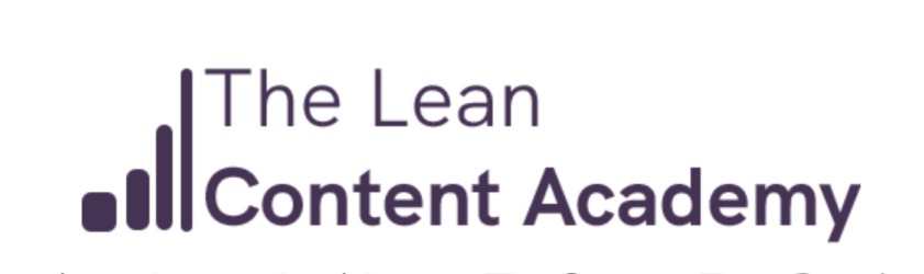 The Lean Content Academy download