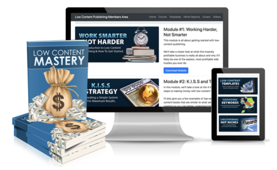 Low Content Mastery – Kate Riley download