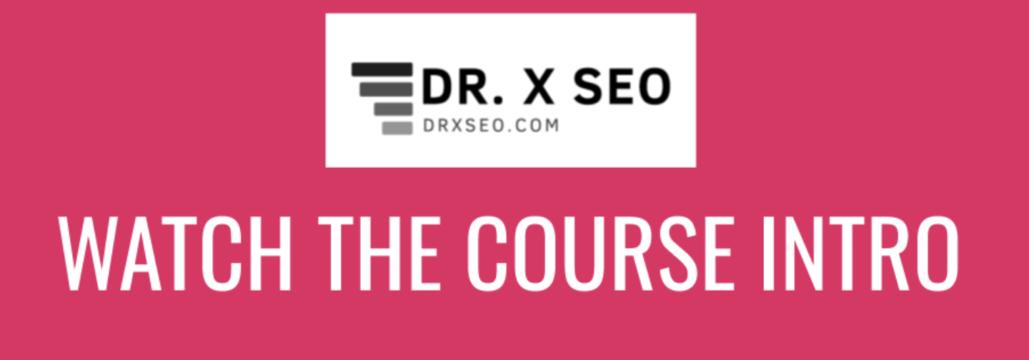 Advanced GMB Course – DR.X SEO download
