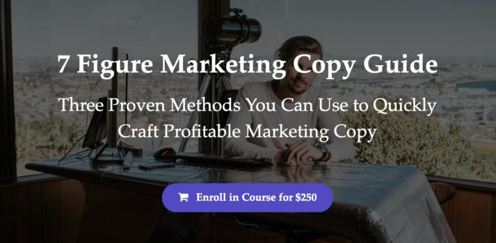 7 Figure Marketing Copy Guide – Sean Vosler download